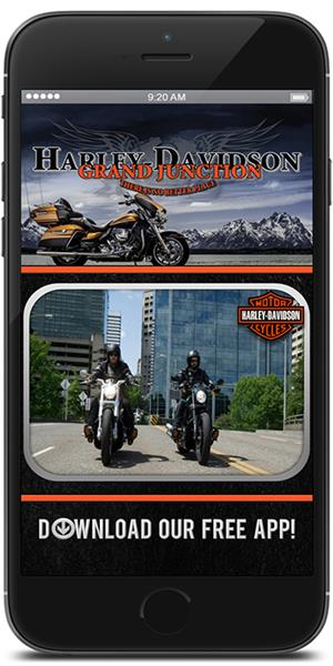 The Official Mobile App for Grand Junction Harley-Davidson