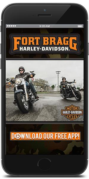 The Official Mobile App for Fort Bragg Harley-Davidson