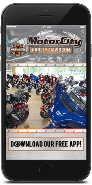 The Official Mobile App for Motor City Harley-Davidson