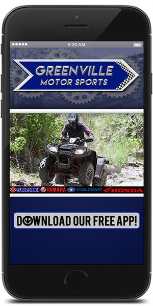 The Official Mobile App for Greenville Motor Sports