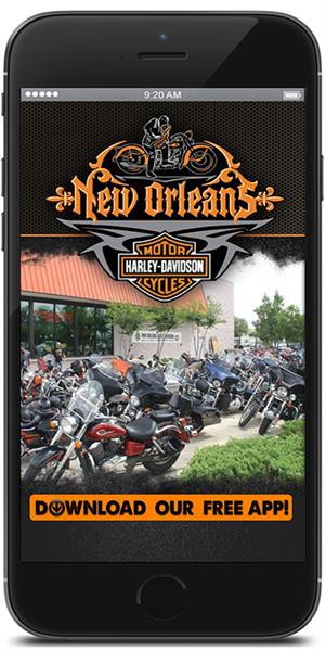 The Official Mobile App for New Orleans Harley-Davidson