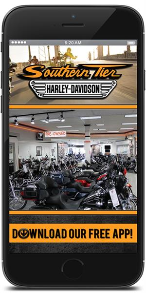 The Official Mobile App for Southern Tier Harley-Davidson