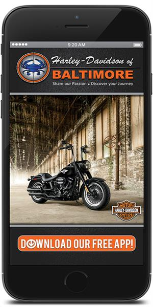 The Official Mobile App for Harley-Davidson of Baltimore