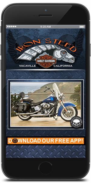 The Official Mobile App for Iron Steed Harley-Davidson