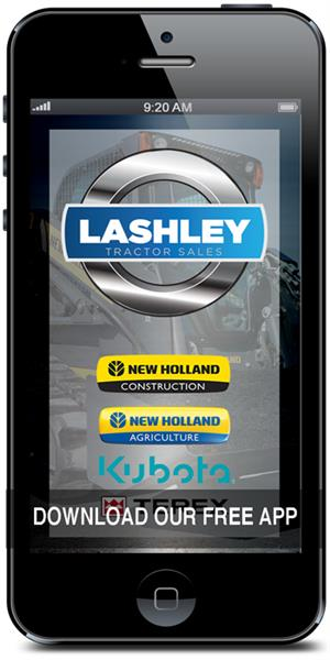 Download Lashley Tractor Sales' mobile application in the iTunes or Google Play store today