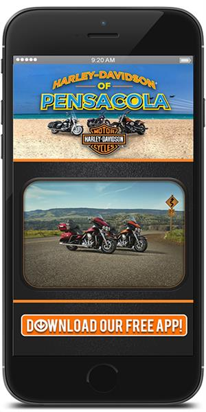 The Official Mobile App for Harley-Davidson of Pensacola
