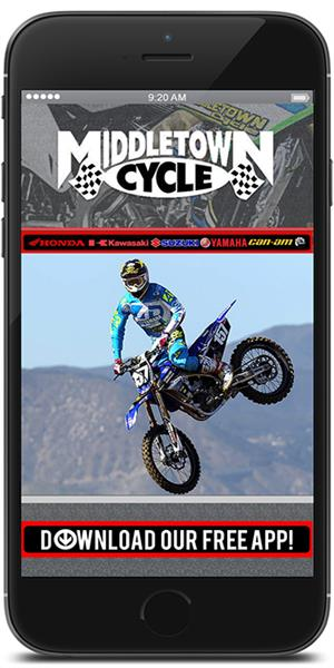 Stay connected to Middletown Cycle using their mobile application available for both Apple and Android devices