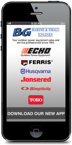 The Official Mobile App for BG Marine & Small Engines