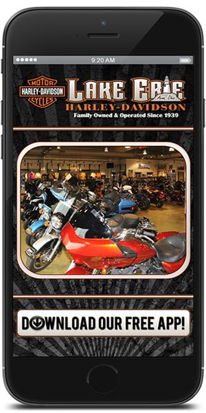 The Official Mobile App for Lake Erie Harley-Davidson