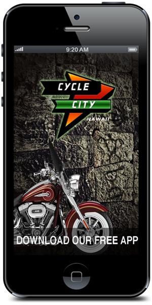 Put Cycle City Harley-Davidson in your pocket!  Download our mobile application from the iTunes or Google play store today.