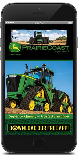 The Official Mobile App for PrairieCoast Equipment