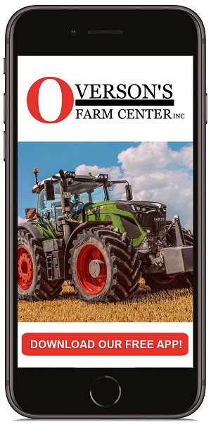 Download the new mobile app for Overson's Farm Center