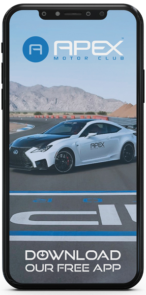 The official mobile app for APEX Motor Club